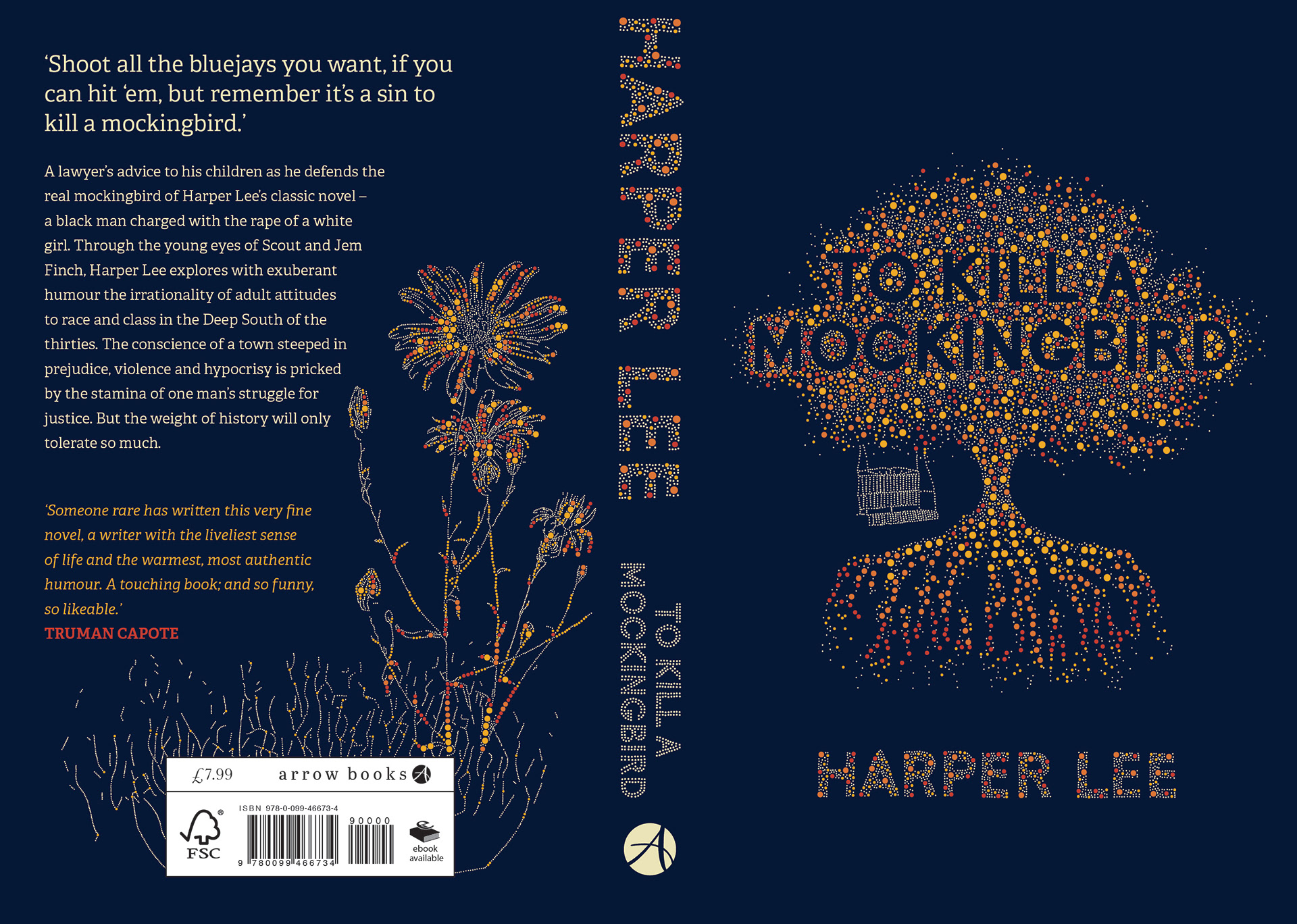 Redesign of Harper Lee's 'To Kill a Mocking Bird'