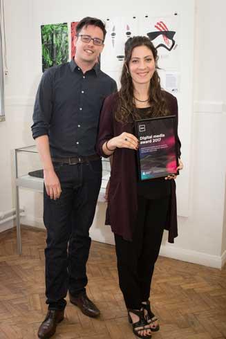 Judging Digital Media Award At Anglia Ruskin University